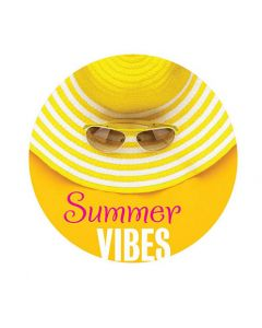 Stickers op rol summer vibes