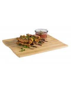 Melamine plateau met bamboo look, GN1/2 325x265x20mm
